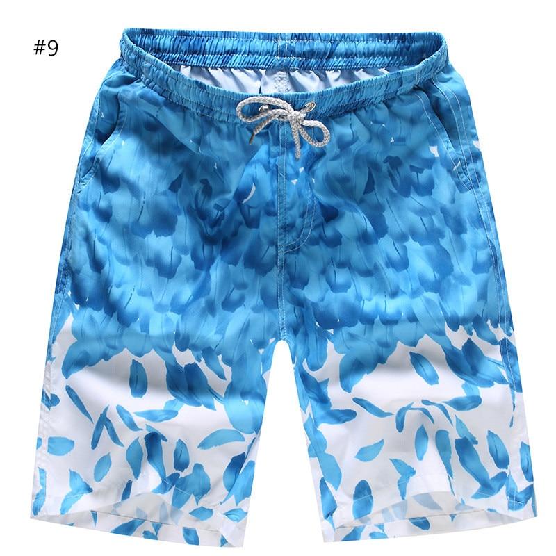Mens Swimwear Swim Shorts Floral Printed Beach Board Shorts Swimming Short Pants Swimsuits Mens Sports Surfing Shorts Y50