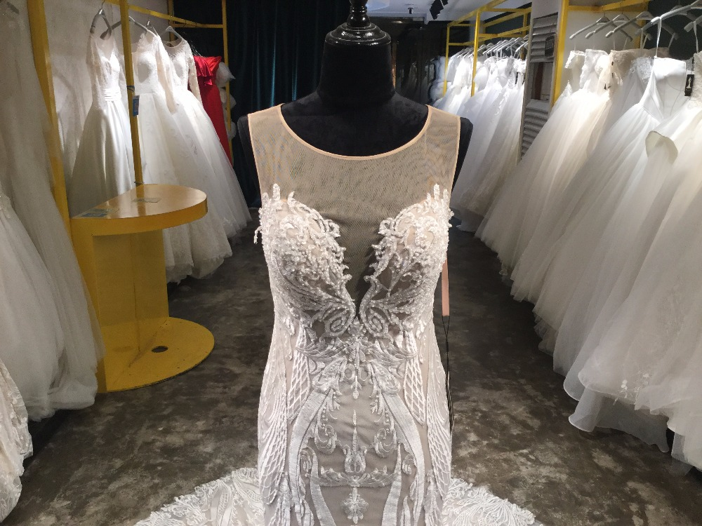 Σαουδική Αραβία Vestido De Noiva μπάλα - Γαμήλια φορέματα - Φωτογραφία 2