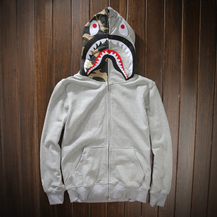 check-out 2a78f 3ea2c Vendita calda! Grigio hoodies del mens felpe di marca e ...