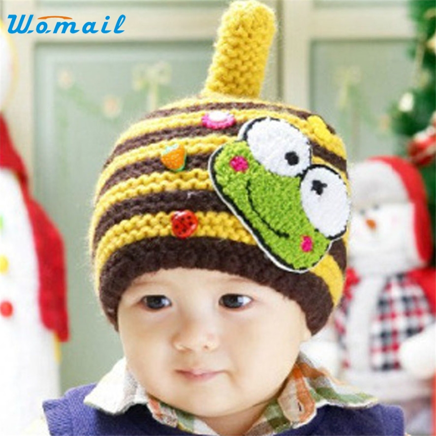 Womail New Brand Fashion Infant Cute Baby Kids Knit Sweater Cap Boy Girl Winter Warm Hat peter may compact first b2 teacher s book