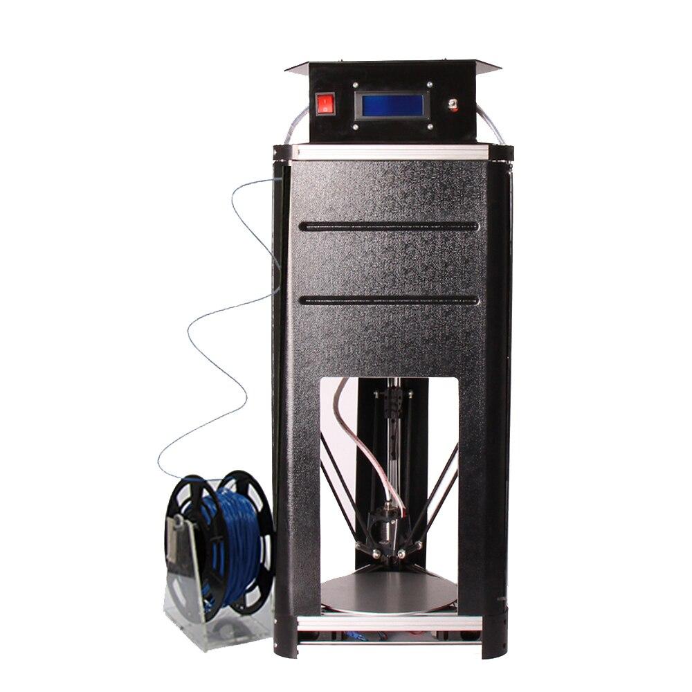 Nuevo Delta Kossel 3D Impresoras de Gran Tamaño Barato 2017 Actualizado Carril d