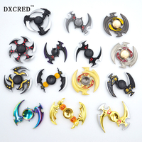 Finger Spinner for Autism and ADHD Spinner Fidget Professional spinner hand bearing ball golden zinc alloy toys gift