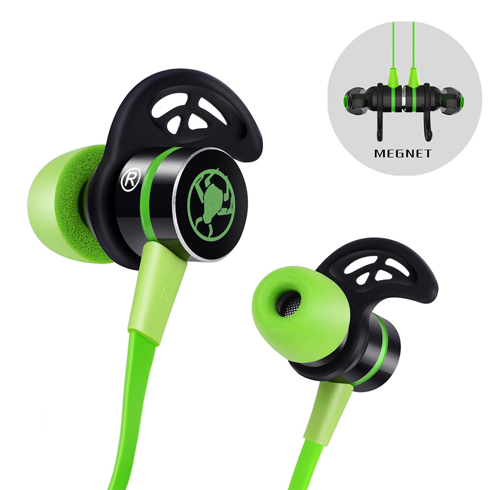 G20 In ear Headphone Magnetic Stereo Earbuds Gaming Headset Computer Earphone Noise Isolation Stereo Deep Bass
