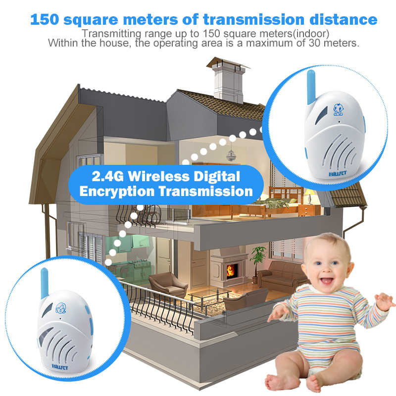 Baby Radio Toy Digital Audio Baby Monitors Nanny Child Monitor Baby phone  Baby alarm (power adapters or USB wire Kits)