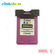 For HP 300 Ink Cartridge 300 XL 300XL For HP Deskjet F4500 F4580 F4583 F2420 F2480 F4210 F2483 D1660 D2560 D2660 D5560 Printer high ink volume re manufactured ink cartridge for hp 300xl 15 17ml cc644ee 300xl tri colour inkjet cartridge for deskjet d2660