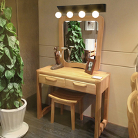 American Minimalist LED Mirror Front Anti Fog Lamp Waterproof Bathroom Mirror Light Vanity Cabinet Dressing Room Wall Lamp WL225