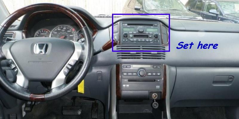 For Honda Pilot Android Radio Stereo Hifi Dvd Player Gps Navigation System