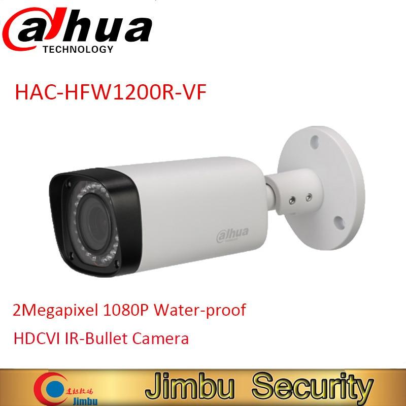 DAHUA HDCVI Bullet Camera HAC-HFW1200R-VF 2MP CMOS 1080P IR 30M IP67 2.7~12mm vari-focal lens security camera HFW1200R-VF dahua hdcvi 1080p bullet camera hac hfw1200d 1 2 7 2megapixel cmos 1080p ir 80m ip67 security camera