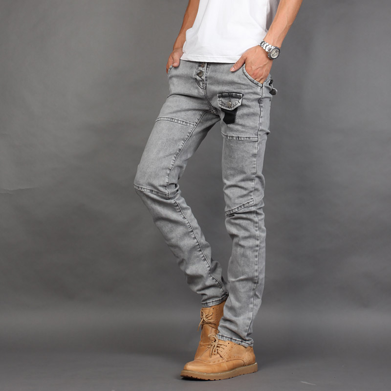 Online Buy Wholesale mens grey skinny jeans from China mens grey ...