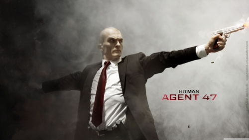 Agent 47 - Hitman Killer Gun Shoot Fight Hot Movie Silk Poster Art Bedroom Decoration 0361 image