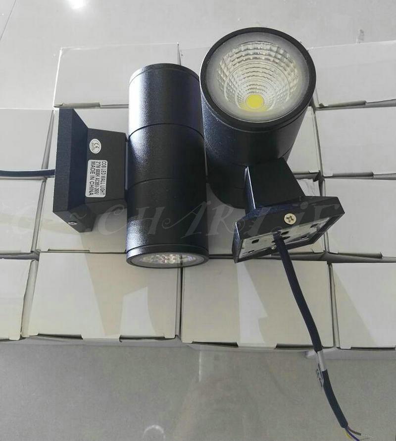2*7 W COB Lâmpada LED Arandela de