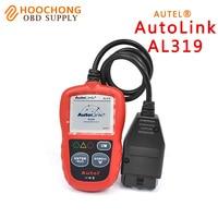 DIY Lector de Código de Diagnóstico Auto de Autel AutoLink AL319 OBD2 Herramienta de Análisis de Código de Actualización Gratuita