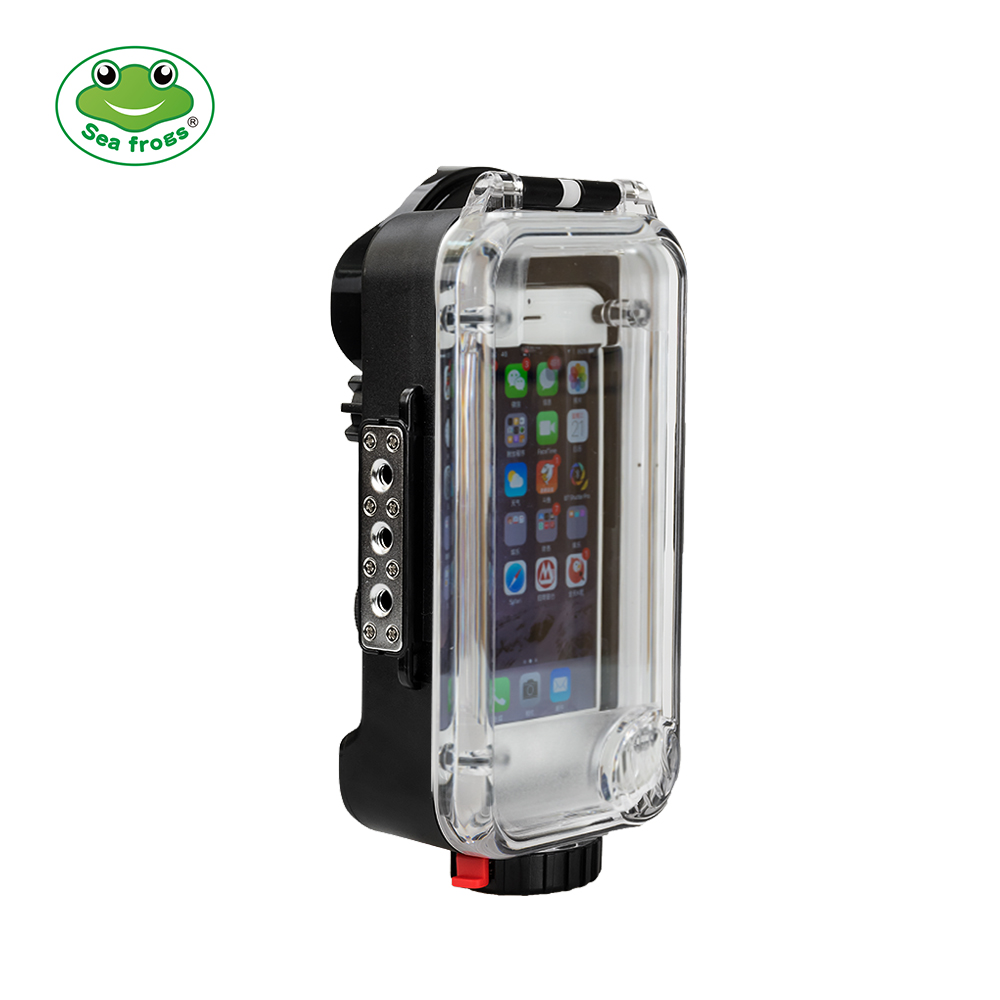 Seafrogs Professional Waterproof Case for iPhone 6 6s 7 8 Plus X Housing Submersible Underwater 60m Photography Impermeable Bag все цены