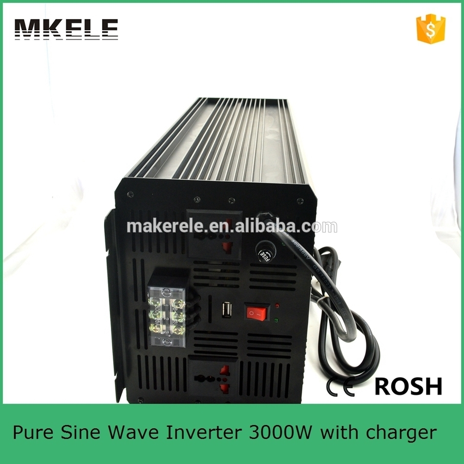 цена на MKP3000-241B-C pure sine wave solar inverter 3000w 24v dc ac power inverter,3kw homage inverter with charger made in china