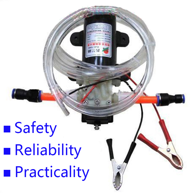 Bomba de V aceite de 12 V eléctrica profesional bomba de transferencia de aceite de motor de combustible Diesel envío gratuito 1498