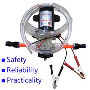 Image 3 - Bomba de aceite eléctrica profesional, Extractor de aceite de motor de combustible diésel, 12V, envío gratis 1498