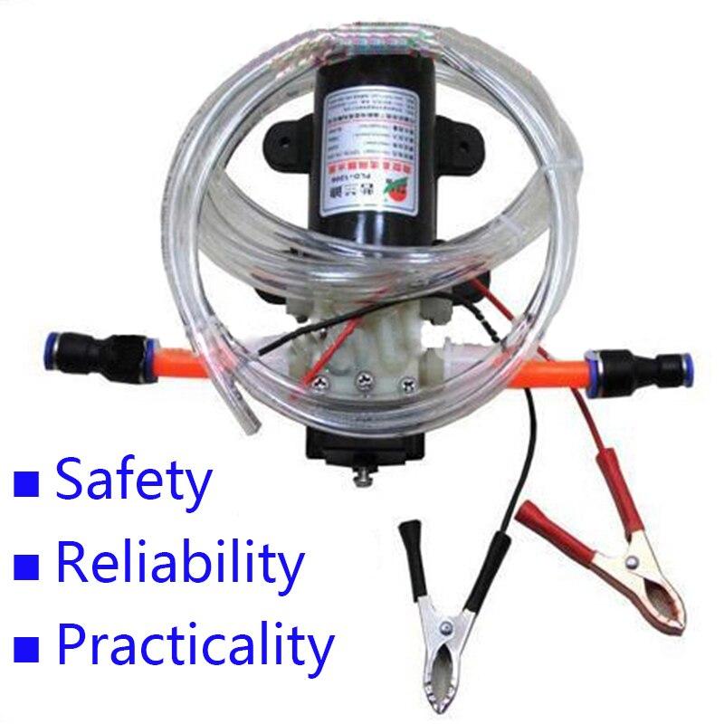 Profesional eléctrica 12 V bomba de aceite Diesel Engine oil Oil Extractor transferencia bomba envío libre 1498