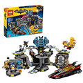 Lepin 07052 New 1047Pcs Genuine Batman Movie Series 70909 Batcave Break-in Building Blocks Bricks Education Toys