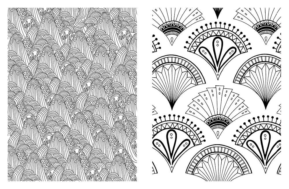 Excepcional Diseños Intrincados Para Colorear Foto - Dibujos Para ...