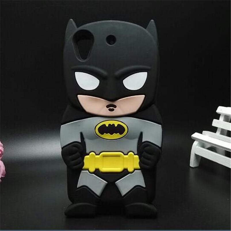 Für HTC 530 Fall 3D Die erste generation Helden Batman Weiche Gummiabdeckung...