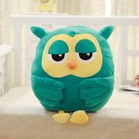 Very Nice Soft 45cm Stuffed Animals Owl Hand Warm Plush Cushion Soft Toy Hold Pillow Xmas Gifts