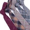 Lazos de los hombres 100% lana formales vestidos Vestido de negocio de La Moda del lazo de la boda corbata de Los Hombres atractivos Masculinos Camisa teclado krawatte legame gif