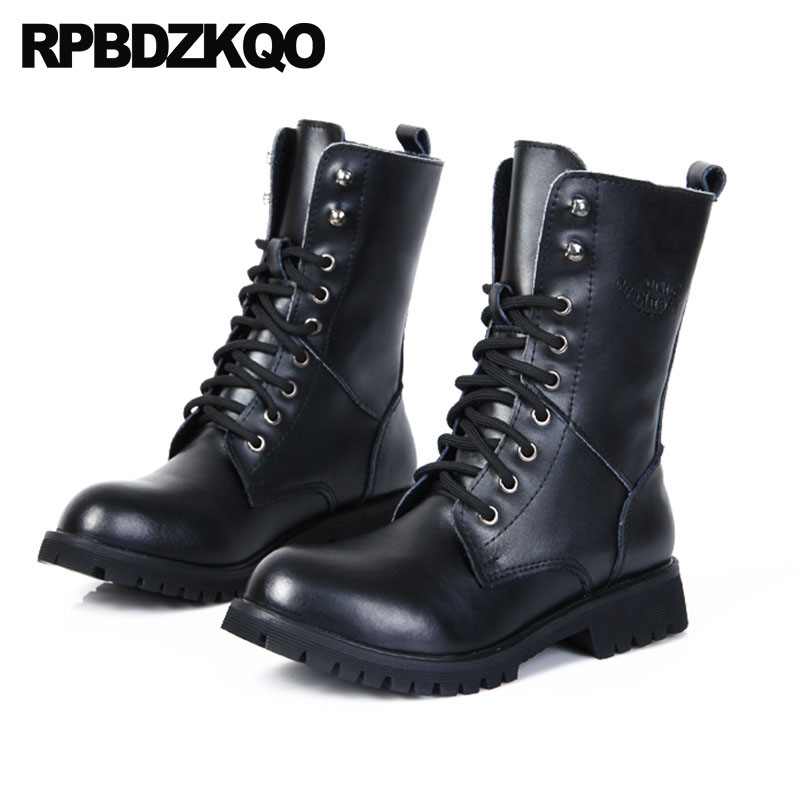 Fur Ankle Waterproof 2018 Autumn Black Combat Plus Size Big Army Shoes Fashion Mens Winter Boots Warm Designer Lace Up Military mens winter boots warm military mid calf durable army 2017 fashion combat motorcycle high top shoes lace up autumn black male
