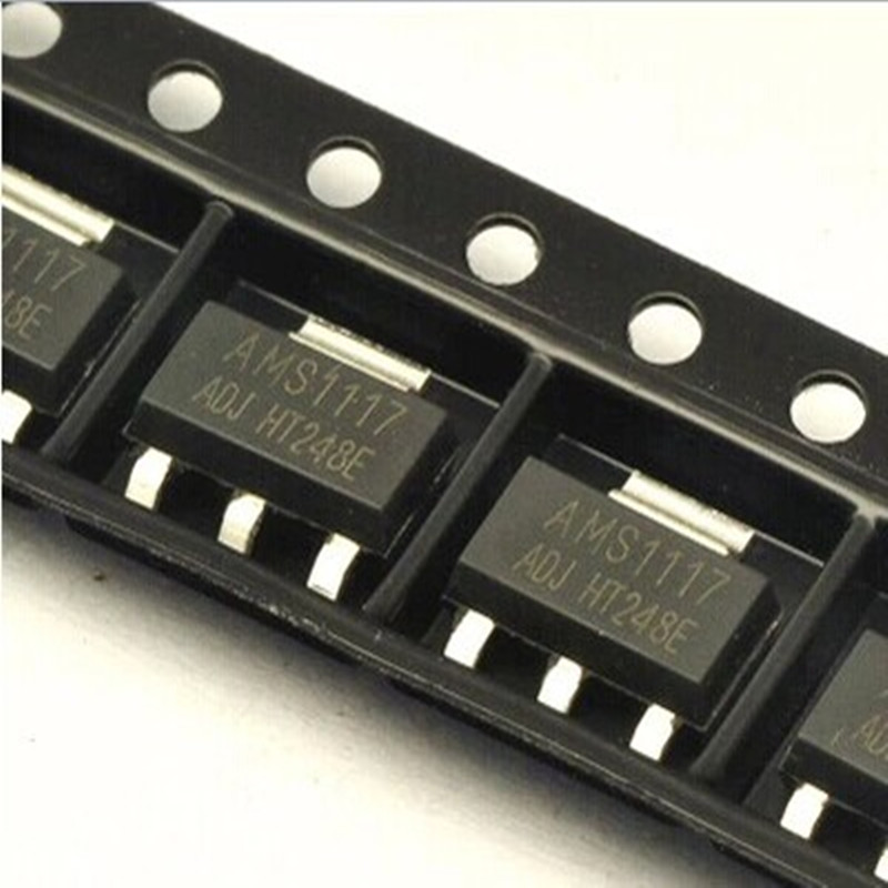 10pcs AMS1117-ADJ AMS1117 LM1117 1A SOT-223 Voltage Regulator front motor hepa filter for dyson dc05 dc08 dc14 dc15 vacuum cleaner parts