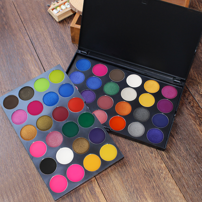 IMAGIC 48 Colors Eyeshadow Pallete Professional Matte Shimmer Glitter Eyeshadow Cosmetics Smoky Eye Shadow Makeup Powder