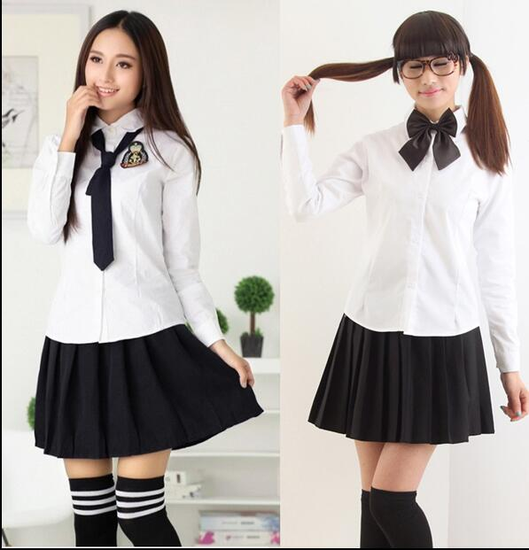 a94a52cd9fa Fashion American High School Students Skirt Uniform Sexy Short ...