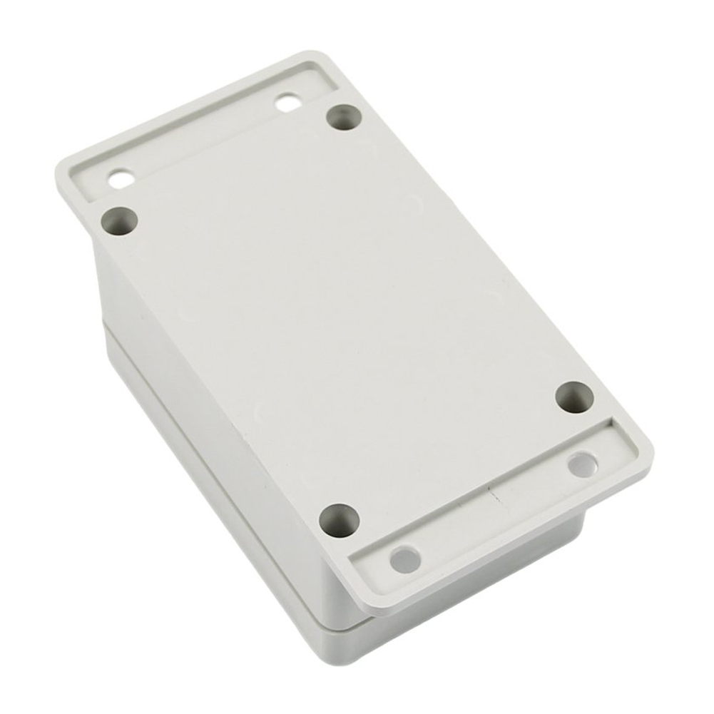 GTFS-Hot White Waterproof Plastic Electronic Project Box Enclosure Case 100*68*50mm