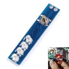 3 шт. 1 s литиевых Батарея Ёмкость светодиодный индикатор Дисплей доска Панель Ёмкость Мощность индикатор уровня для 1 шт. 18650 литиевая Батарея