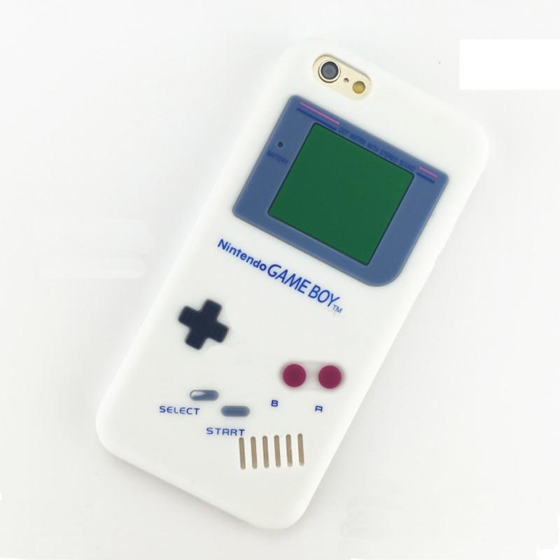 Coque For Apple Iphone 5S SE Case Retro Gameboy 3D Shockproof Back Soft  Iphone 8 7 Plus 6 6S Plus Case Silicone Fundas