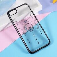 KINGXBAR Case For IPhone 7 Case Swarovski Crystal Diamond Hard Cover For IPhone 7 Cover IPhone7