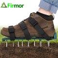 FIRMOR Газон Аэратор обувь 26 шипы аэрации почва лужайка сад двора уход прочный универсальный размер садовые инструменты ручные аэраторы