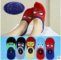 10 PCS = 5 pares de Liga de verão meias de algodão meias invisíveis boca rasa meias de algodão dos desenhos animados de sílica gel antiderrapante meias barco criança do sexo feminino meias