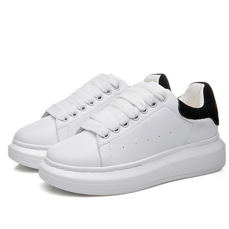 Fisdyrax Spring New  White Shoes Women Thick-soled Student Casual Female Wedge Women's Platform Sneakers Shoes For Women