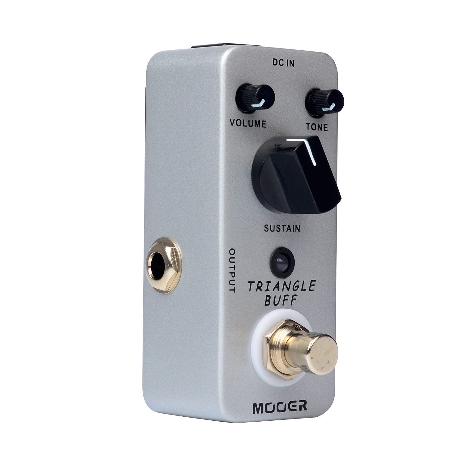Mooer Triangle Buff Fuzz Electirc Guitar Effect Pedal True Bypass Mini Effects MFZ2 mooer ensemble queen bass chorus effect pedal mini guitar effects true bypass with free connector and footswitch topper