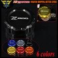 Hot sales High Quality Motorcycle CNC Rear Brake Reservoir Cover Cap For Kawasaki Z800 2012 2013 2014 2015 2016
