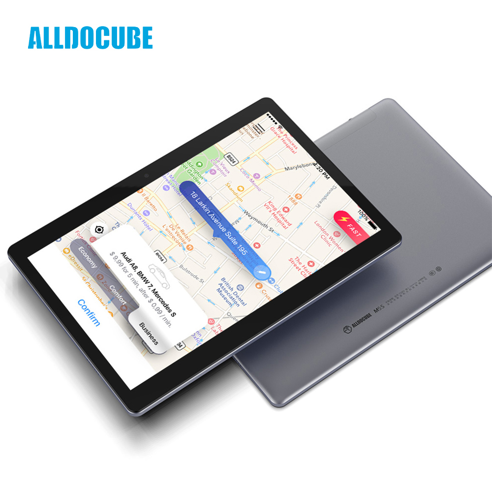 ALLDOCUBE M5S Android 8.0 4G LTE 10.1 inch MTK X20 10 Core Phone Call Tablets PC 1920*1200 FHD IPS 3GB RAM 32GB ROM GPS Dual SIM цена