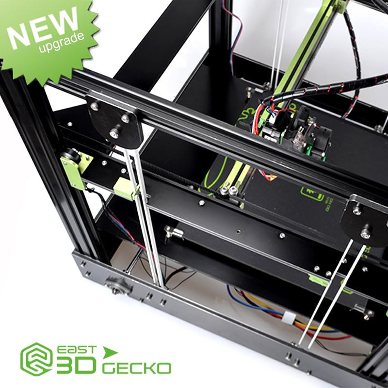 2017 Newest 3D Printer East 3D Gecko Core XY Structure diy no hot bed стикеры для стен oem 12 6big 6 3d diy no