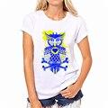 Мода Лето kawaii футболка разнообразие Попугаев Сова Печати blusa Простой Футболка Женщины Повседневная Топы Женщины Тис Большой Размер XS-XXXL