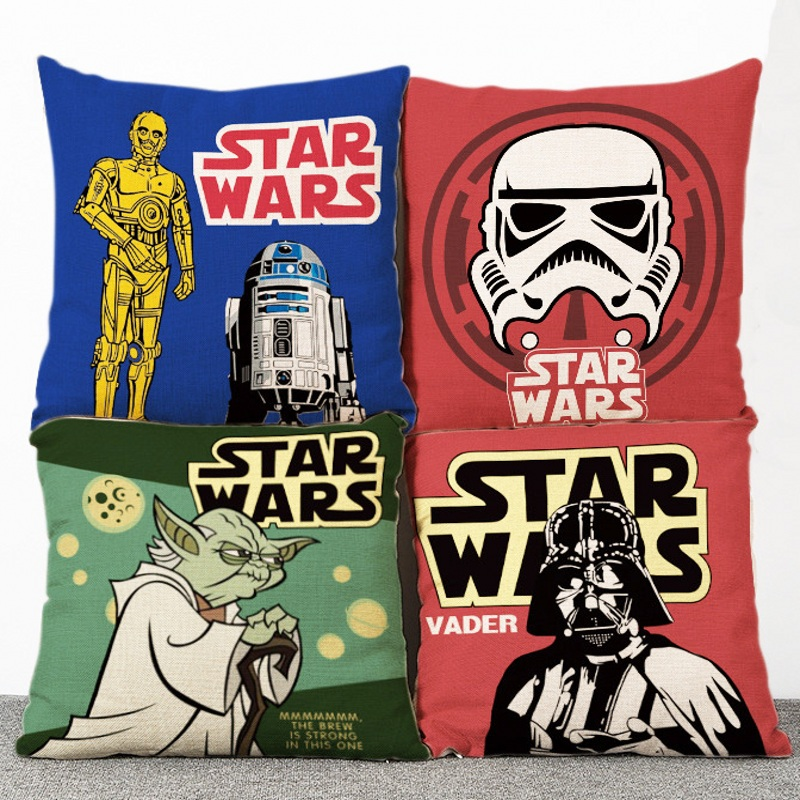 Star Wars Living Room Art: Star Wars Clone Trooper Washable Cushion For Living Room