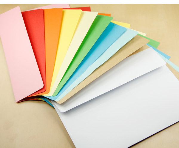 7# Paper Envelope 230x162 Mm 160GMS Western-style Color Envelope 100PCS