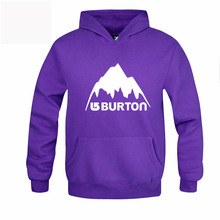 Burton Mens Hoodies Warm Autumn Winter Hooded Pullover Male Young People Clothes Skateboard Hip Hop Tracksuit Sweatshirt RAA0467