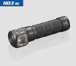 2018 nowy Skilhunt H03 H03R H03F RC 1200 lumenów zimne lub neutralny biały USB magnetyczny ładowanie reflektorów