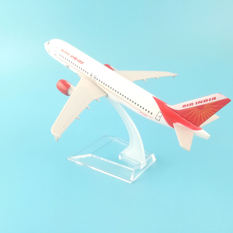 India 16cm Alloy Metal Airplane Model Air Indian Airlines Aircraft Airbus A320 Airways Plane Model W Stand Gift free shippingIndia 16cm Alloy Metal Airplane Model Air Indian Airlines Aircraft Airbus A320 Airways Plane Model W Stand Gift free shipping