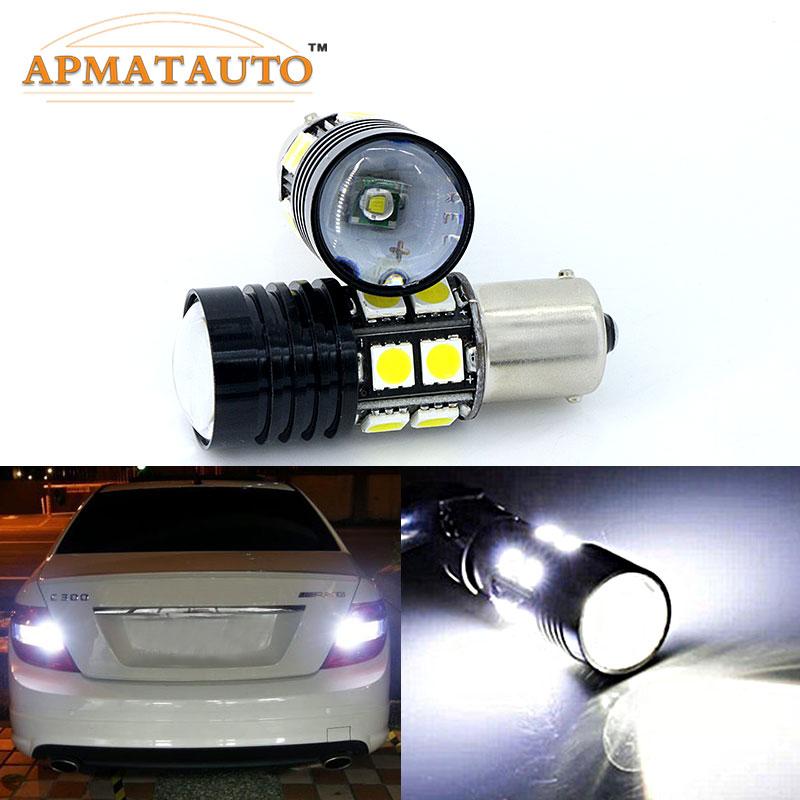 1 x 1156 BA15S P21W Canbus nincs hiba Autó LED hátsó hátrameneti - Autó világítás