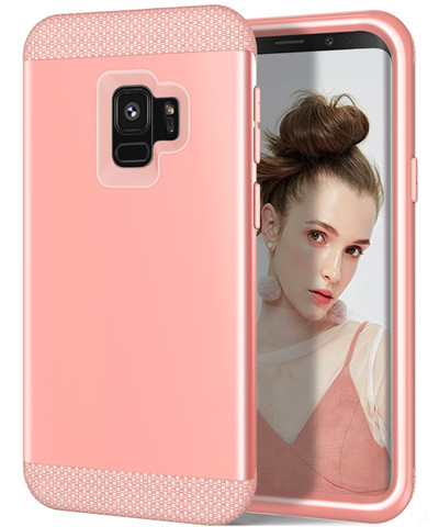 Heavy Duty Hybrid Case For Samsung Galaxy S9 S9Plus Shockproof Armor Rugged Case Cover Hard PC + Soft Rubber Silicone Phone Case (38)