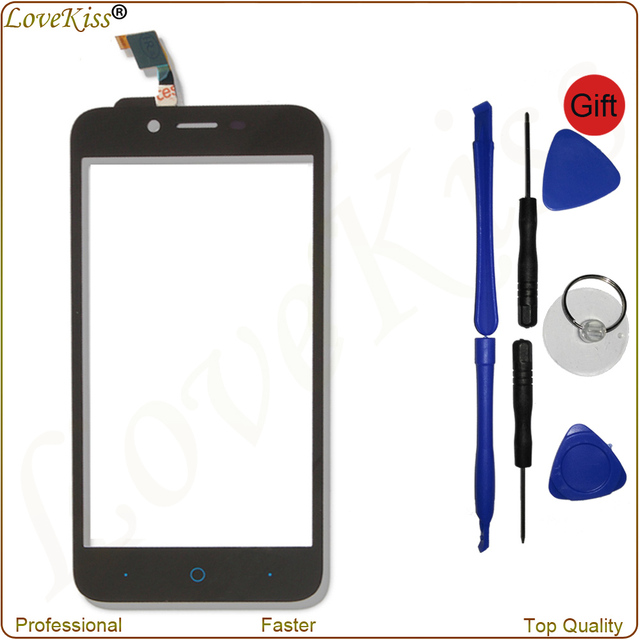 """High Quality 5"""" Touch Screen Digitizer For ZTE Blade L4 A460 Pro A465 T610 A475 Front Panel Sensor Outer Glass Lens Replacement"""